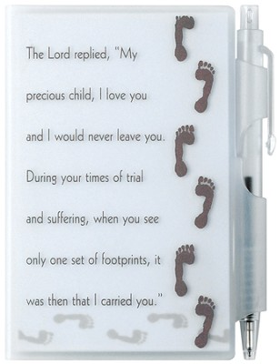 Footprints Memo Pad  -