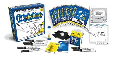 The Original Telestrations ® Game, 8 Player   -