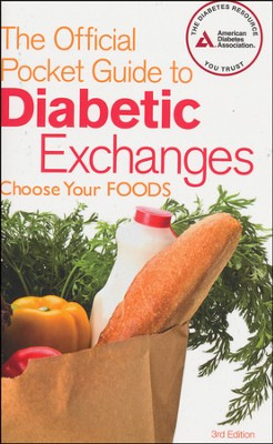 The Official Pocket Guide to Diabetic Exchanges, 3rd Ed   -     By: American Diabetes Association