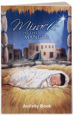 Miracle in the Manger Activity Book  -