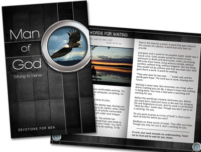 Man of God Devotion Book  -