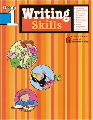 Writing Skills Flash Kids Workbook, Grade 1   -     By: Flash Kids Editors