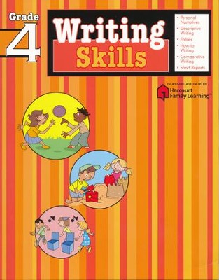 Writing Skills: Grade 4  -     By: Flash Kids Editors