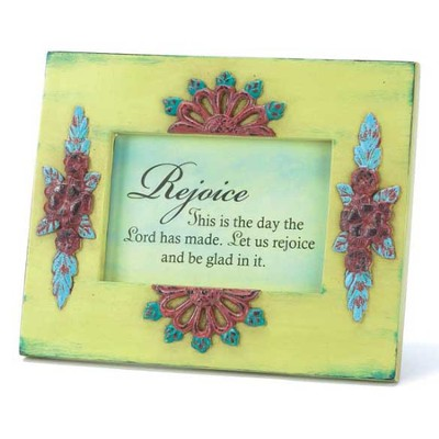 This is the Day Green Floral Plaque  -