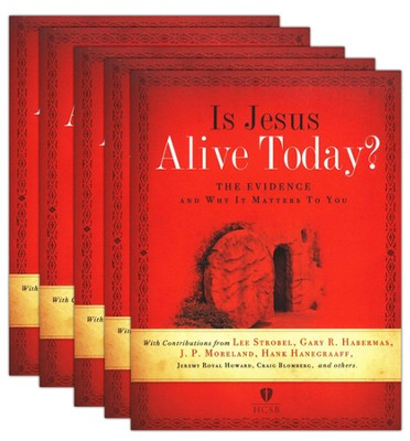 Is Jesus Alive Today? 5-pack: The Evidence and Why It Matters to You  -     By: Lee Strobel, Gary Habermas, Hank Hannegraaff