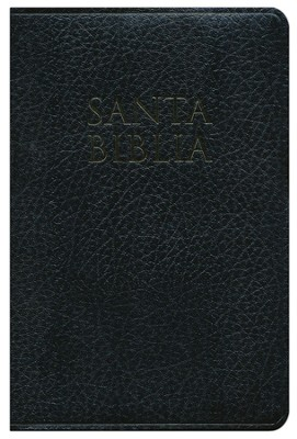 RVR 1960/HCSB Bilingual Bible, Imitation leather, black  Thumb-Indexed  -