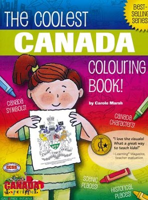Canada Colouring Book, Grades PreK-3  -     By: Carole Marsh