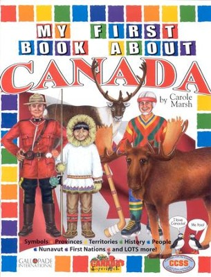 Canada My First Book, Grades K-5  -     By: Carole Marsh