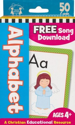 Alphabet--Christian Flash Cards   -