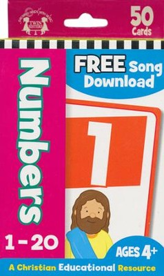 Numbers--Christian Flash Cards   -