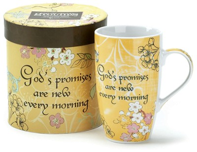 Gods Promises are New Every Morning Mug  -