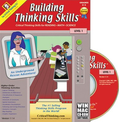 Building Thinking Skills Level 1 on CD-Rom   -