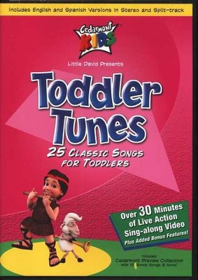 Toddler Tunes on DVD   -     By: Cedarmont Kids