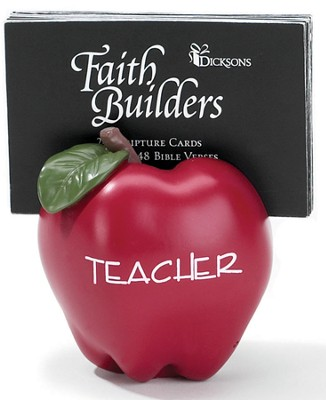 Teacher Scripture Cards  -