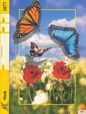 Grade 7 Math PACE 1077, 4th Edition  -