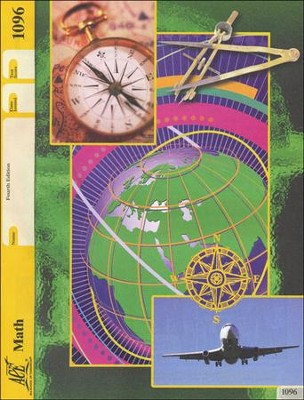 Math Grade 8 PACE 1096 4th Edition   -