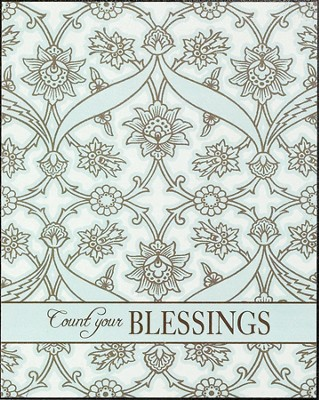 Count Your Blessings Plaque  -