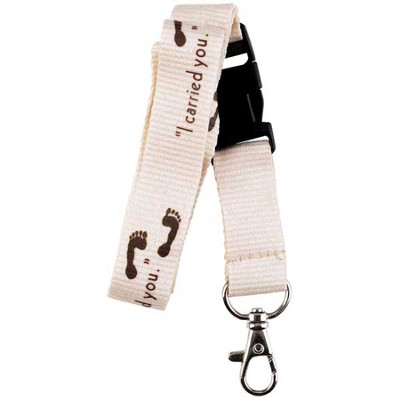 Footprints Lanyard  -