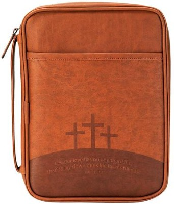 Greater Love Has No One- Bible Cover Large   -