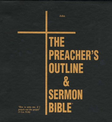 John [The Preacher's Outline & Sermon Bible, KJV Deluxe]   -