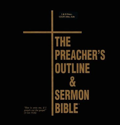 Peter-Jude [The Preacher's Outline & Sermon Bible, KJV Deluxe]   -