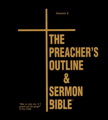 Genesis: Part 2 [The Preacher's Outline & Sermon Bible, KJV Deluxe]  -