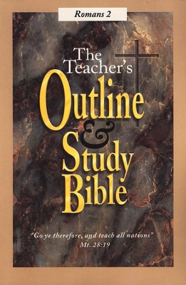 Teacher's Outline & Study Bible KJV: Romans Vol 2   -