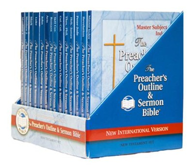 The Preacher's Outline & Sermon New Testament Library: 14 Volume NIV Edition  -
