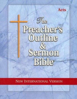 Acts [The Preacher's Outline & Sermon Bible, NIV]   -
