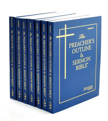 Pentateuch, 7 Vols [The Preacher's Outline & Sermon Bible, KJV]    -