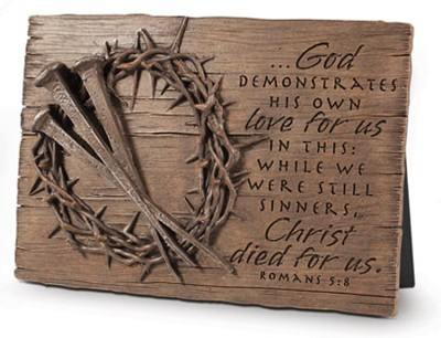 Crown of Thorns Plaque  -