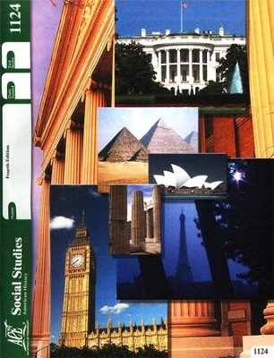 4th Edition Social Studies (American History) PACE 1124  -