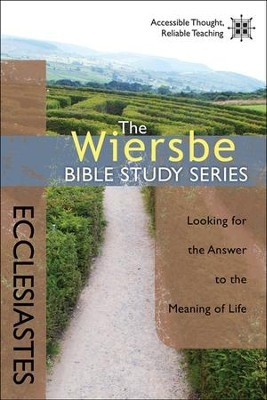 Ecclesiastes: The Warren Wiersbe Bible Study Series   -     By: Warren W. Wiersbe