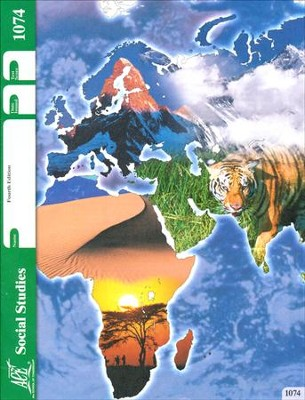 Social Studies PACE 1074, Grade 7, 4th Edition  -