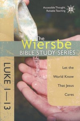 Luke 1-13: The Warren Wiersbe Bible Study Series  - Slightly Imperfect  -     By: Warren W. Wiersbe