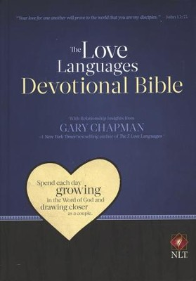 Love Languages Devotional Bible, NLT Hardcover  - Slightly Imperfect  -     By: Gary Chapman