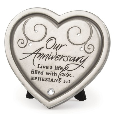 Our Anniversary Plaque   -