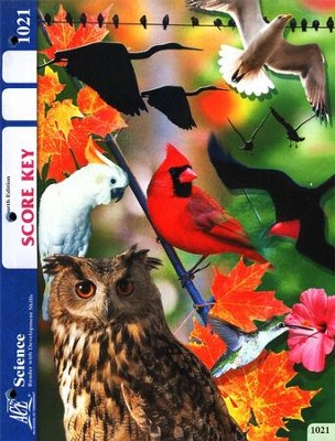 4th Edition Science Score Key 1021, Grade 2   -