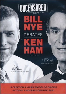 Uncensored Science: Bill Nye Debates Ken Ham DVD   -