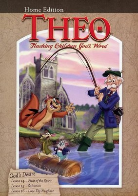 Theo: God's Desire, Home Edition DVD   -