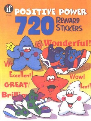720 Positive Power Reward Stickers  -