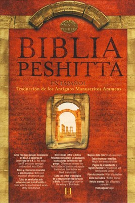 Biblia Peshitta (The Peshitta Bible, Hardcover, Thumb-Indexed)   -
