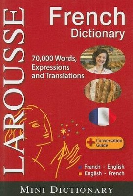 Larousse Mini Dictionary : French-English / English-French - Slightly Imperfect  -     By: Larousse