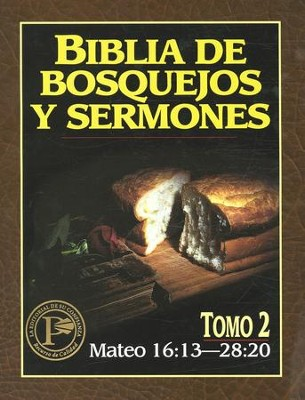Biblia de Bosquejos y Sermones: Mateo 16:13-28:20  (The Preacher's Outline & Sermon Bible: Matthew 16:13-28:20)  -     By: Kregel Publications