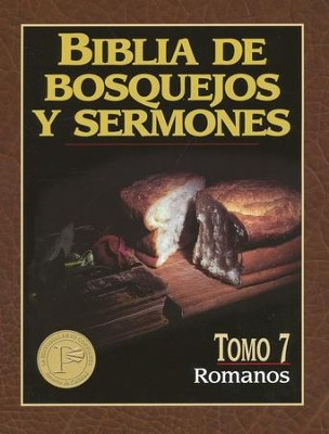 Biblia de Bosquejos y Sermones: Romanos  (The Preacher's Outline & Sermon Bible: Romans)  -     By: Anonimo