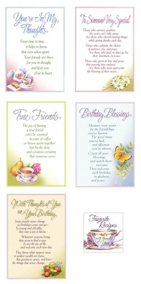 All Occasion Recipe Book Cards, Set of 15  -