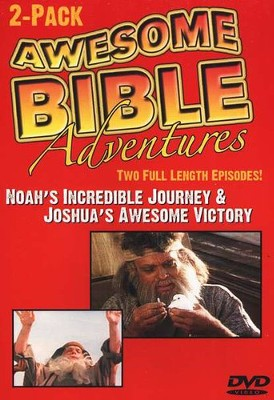 Awesome Bible Adventures: Noah's Incredible Journey & Joshua's  Awesome Victory, DVD  -