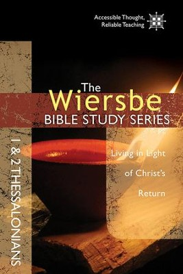 1 & 2 Thessalonians, Wiersbe Bible Study  -     By: Warren W. Wiersbe