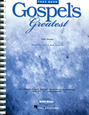 Gospel's Greatest, Songbook   -