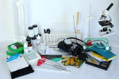 Equipment & Slide Lab with Microscope Kit for BJU Press Biology  -